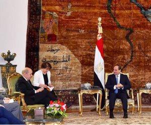 خلال لقائه وزير خارجية فرنسا.. سامح شكري: البلدان تجمعهما علاقات تاريخية وشراكة ممتدة
