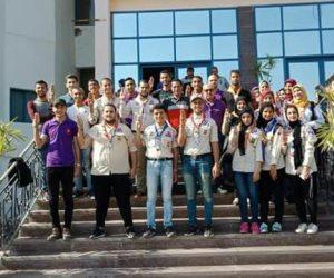 التربية الرياضية تنظم الملتقى الكشفي الثقافي الأول بجامعة المنوفية