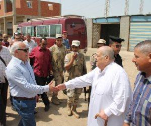 إجراءات رادعة لمنع وصول المياه للمزارع السمكية المخالفة ببورسعيد