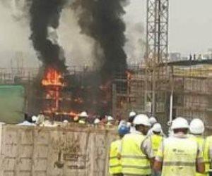 حريق المتحف المصرى الكبير.. العمال للنيابة ارتفاع درجة الحرارة ساعدت على امتداد شرر آلة اللحام