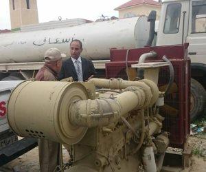 إعادة تشغيل مولد كهربائي عثر عليه متروكا في حديقة مستشفى بشمال سيناء