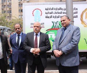 القابضة للصناعات الغذائية تسليم 30 سيارة جديدة للعامة للجملة ضمن مبادرة تحيا مصر