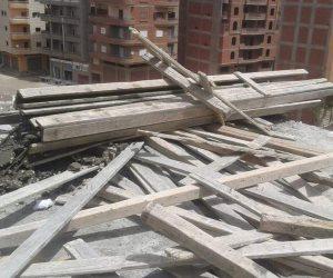 حملة أمنية للتصدي لمافيا العقارات والمباني المخالفة بالدقهلية (صور)