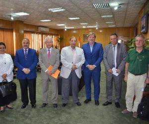 محافظ الإسماعيلية يستقبل ممثلي وفد وأعضاء الاتحاد الأوروبي