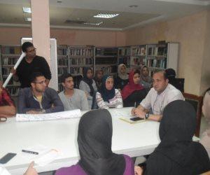 الهيئة العامة للاستعلامات تنظم ورشة عمل حول الثقافة واحتياجات الشباب بمطروح  (صور)