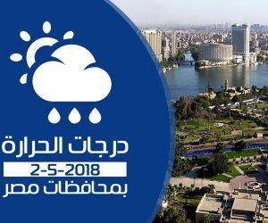 الأرصاد: طقس اليوم الأربعاء شديد الحرارة.. والصغرى بالقاهرة 22 درجة (فيديوجراف)