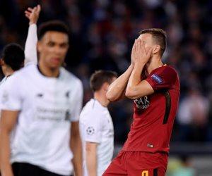 75 دقيقة.. ليفربول يقترب من نهائي كييف بتعادله مع روما 2 / 2  (صور وفيديو)