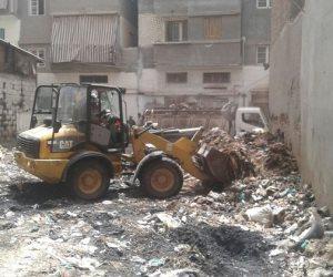 رفع 605 طن من تجمعات القمامة بالعديد من المناطق بدمياط