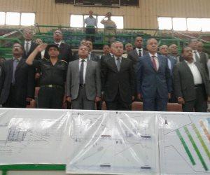 بدء مراسم القرعة العلنية لمبادرة الرئيس لتوزيع 2459 قطعة أرض بالمراشدة