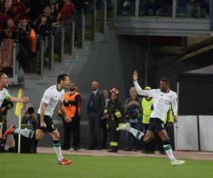 5 أرقام قياسية في ليلة تأهل ليفربول التاريخي على حساب روما إلى نهائي الأبطال (فيديو)