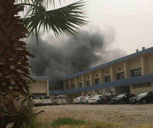 شاهد.. اللحظات الأولى لهجوم مفوضية انتخابات طرابلس الإرهابي (فيديو)