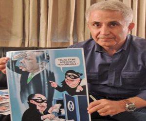 جائزة دولية لرسام كاريكاتور تركى أٌدين بالإرهاب من نظام أردوغان