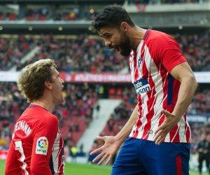 أتليتكو مدريد يهاجم أرسنال بـ كوستا و جريزمان في الدوري الأوروبي(صور)
