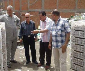 ضبط 13 طن ياميش منتهى الصلاحية قبل التوزيع بأسواق البحيرة