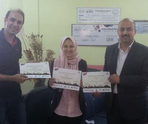 طالبة بمدرسة المتفوقين بكفر الشيخ تفوز بالمركز الأول بمسابقة Blast Off العلمية