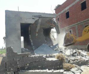 حملات مكثفة بالدقهلية تسترد 40 فدان من أملاك الدولة