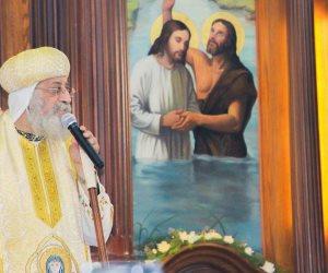 البابا تواضروس يدشن «مذابح وأيقونات» كنيسة القديس الأنبا أثناسيوس بالأسكندرية