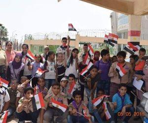 «هما دول ولادك يا مصر».. مسيرة بالغردقة للاحتفال بأعياد سيناء (صور)