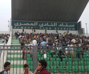 10 آلاف جنيه غرامة على المصري بسبب سلوك الجماهير في مباراة إنبي
