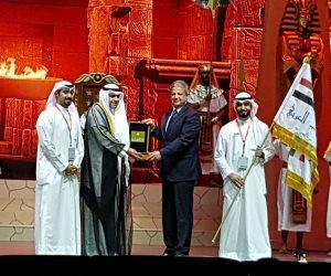 ختام فعاليات الكويت عاصمة الشباب العربي وتسليم القاهرة مفتاح النسخة الرابعة لعام 2019