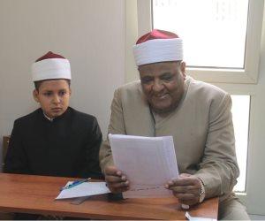 وكيل الأزهر يتابع امتحانات النقل بمعهد الشعبة الإسلامية