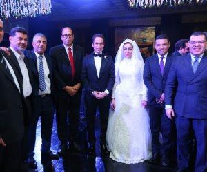 بحضور رجال السياسة والإعلام.. أحمد المسلماني يحتفل بزفافه (صور)