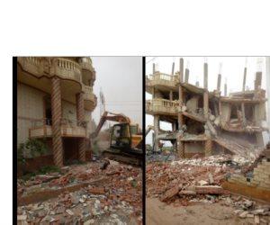 الداخلية تدك حصون تجار المخدرات في أبو الغيط (صور )