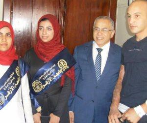 وفد جامعة الأزهر يثمن جهود رجال القوات المسلحة في دحر العمليات الإرهابية