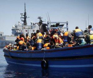 خفر السواحل الليبى ينقذ 98 مهاجرا غير شرعى