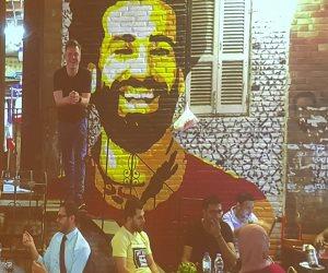 محمد صلاح يظهر في مؤتمر القاهرة للإعلام (صورة)