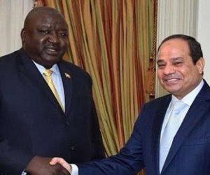 الرئيس الأوغندي يصل القاهرة لمناقشة سبل التعاون بين البلدين