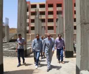 محافظ قنا يتفقد أعمال احلال وتجديد مستشفى دشنا المركزي