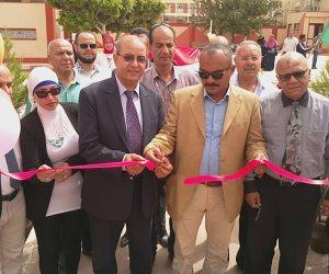 افتتاح ملاعب بمدرسة رياضية بتمويل الأبنية التعليمية ببورسعيد