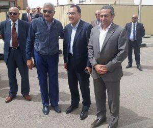 وزير الاسكان مع هشام طلعت مصطفى في «مدينتي» (صور)