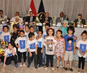 التعليم والداخلية تنظمان الحفل الختامى لمسابقة رفع الوعي المروري للأطفال