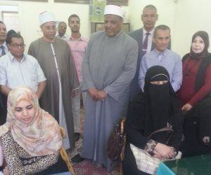 وكيل الأزهر يتابع امتحانات الشفوي بكلية الدراسات الإسلامية للبنات بسوهاج