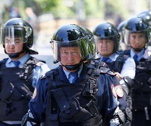 شرطة كازاخستان تعتقل عشرات فى احتجاجات مناهضة للحكومة