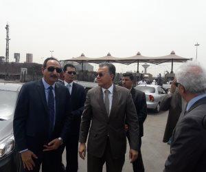 وزير النقل يتابع أعمال تنفيذ محاور النقل التنموية الجديدة في الإسكندرية (صور)