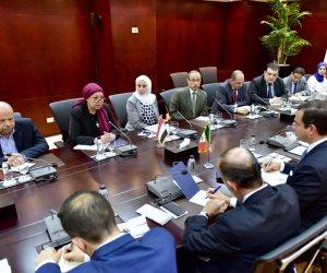 منى زوبع تستقبل وفد مجلس الاستثمار «المصري-المكسيكي» (صور)