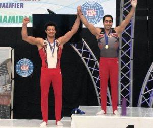 «أبو القاسم» يحصل على المركز الثالث وبرونزية الحلق في بطولة الجمباز بكرواتيا