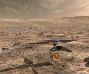 «ناسا» تُرسل طائرة هليكوبتر إلى كوكب المريخ (صور)