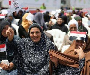 «تحيا مصر» يوزع 100 طن غذاء في احتفالية كبرى بكفر الشيخ (صور)