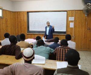 «البحوث الإسلامية» يواصل تنظيم دورات لمراجعة المقررات الدراسية للطلاب الوافدين