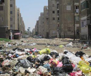 البرك والمستنقعات تحاصر سكان فاطمة الزهراء والأهالي يستغيثون بمحافظ بورسعيد (صور)