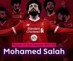 رسميا.. محمد صلاح أفضل لاعب فى الدورى الانجليزي