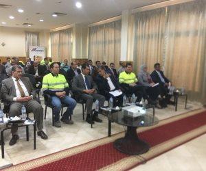 وزير البيئة يتفقد «أسمنت أسيوط» لمتابعة استخدام الوقود البديل (صور)