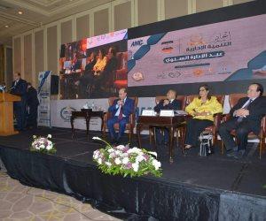 علاء أبو زيد يحصل على جائزة التميز الإداري لأفضل محافظ من اتحاد جمعيات التنمية الإدارية   ( صور )