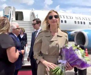 إيفانكا ترامب تصل القدس المحتلة لافتتاح السفارة الأمريكية (صور)