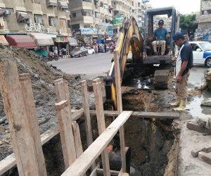 «مياه القناة» تنتهي من صيانة شبكات صرف «جنيفة وكبريت» بالسويس