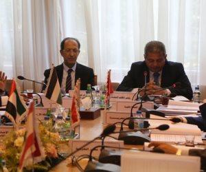 «عبد العزيز» يناقش مقترحات «الأنشطة» فى اجتماع وزراء الشباب العرب (صور)